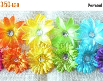 SUMMER SALE 20% OFF Flower Clip, Hair Clip, Tutu Clip, Add a Flower Clip to Any Tutu Order for Mix & Match Options, Use as a Tutu Accessory,