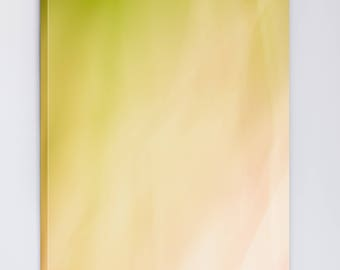 Abstract Canvas Zen Wall Art - Extra Large Art Canvas - Nursery Wall Art Girl - Modern Abstract Botanical Photograph - Green Pink White