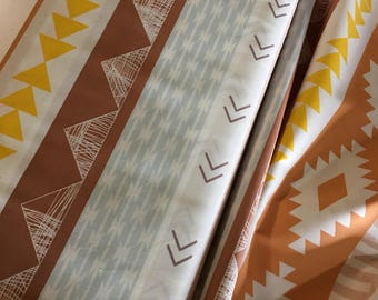 Arizona After fabric, Arizona 2, Fabricshoppe Fabric, Tribal, April Rhodes for Art Gallery Fabrics, Arid Horizon Earth- You Choose the Cut