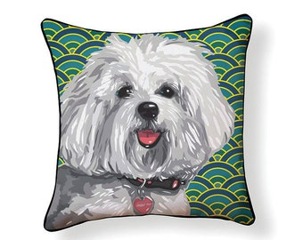 Pooch Décor: Havanese Pillow