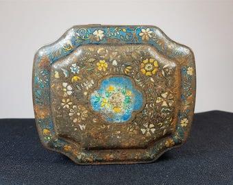 Vintage George Horner Biscuit Tin Box 1920's