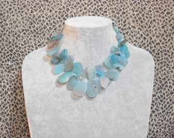 Agate Nugget Necklace