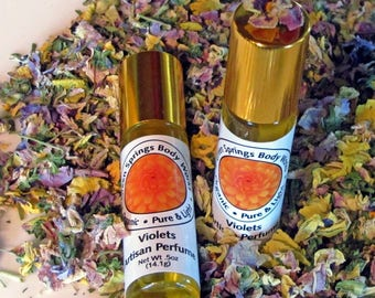 Violets Botanical Perfume with Violet and Tuberose Absolute