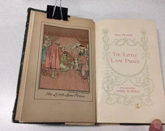 Book-The Lame Little Prince by Miss Mulock - 1899
