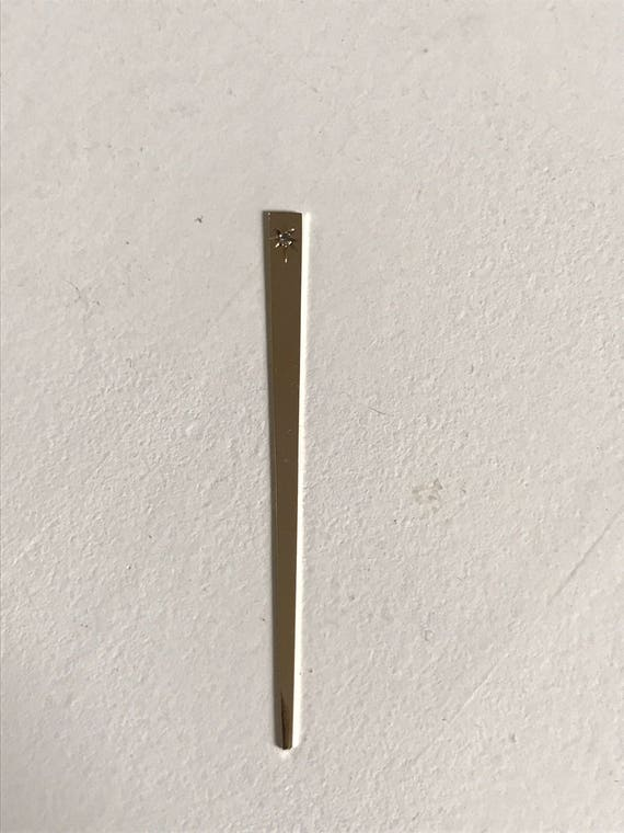 14K Gold and Diamond Toothpick