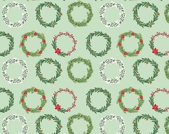 EXTRA20 20% OFF Comfort and Joy By Dani Mogstad for My Mind's Eye - Light Green Wreaths
