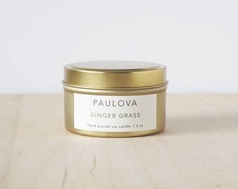 GINGER GRASS candle : SALE