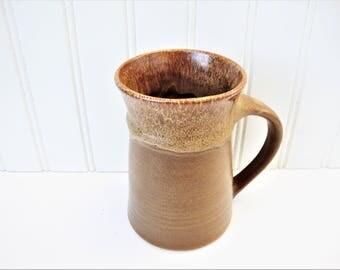 big mug for men pacific stoneware beer stein 1960s