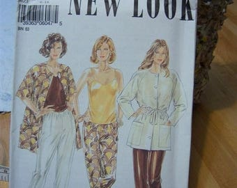 Christmas in July NewLook by Simplicity Tank, Pants and Jacket Pattern N 6047, Uncut Sizes 6 thru 16