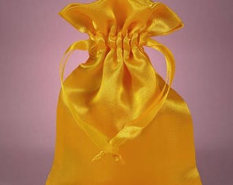 New Years Sale 12 Pack  4 X 6  inch Satin Drawstring Bags Inch Size Great For Gifts, Favors, Sachets, Weddings