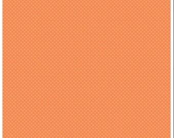 Kisses Tone on Tone Orange (C210) - Riley Blake Designs