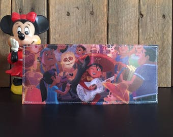Miguel, Dante & family Disneyland Map Wallet