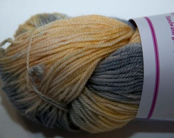Hand-Dyed Yarn in Under the Dutch Skies Sock Yarn Merino/Cashmere/Nylon Lush Base