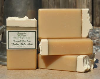 India Pale Ale Handmade Artisan Beer Soap