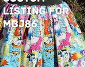 Custom listing for MBJ86