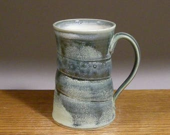 Stoneware, Handmade, 18oz, Pottery Mug, Coffee Mug, Beer Mug , Tea Cup. Great Beer or Coffee Lovers Gift !