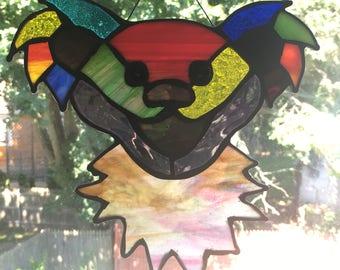 Grateful Dead inspired Dancing Bear mixed colors
