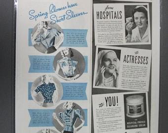 Cos # 105  Albolene    Magazine Ad - April 1938