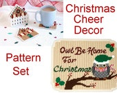 PATTERN: Christmas Cheer Decor in Plastic Canvas