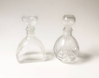 Glass Bottles decorative Bottles Wedding bottles clear glass bottles with stoppers
