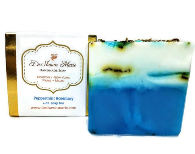 Peppermint Rosemary Handmade Soap