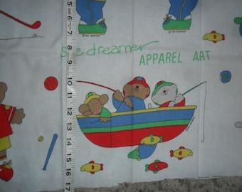 "Vintage ""Sue Dreamer"" Apparel Art - Sports Bears"