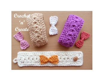 Bracelet Crochet Pattern (DOWNLOAD) CNC40