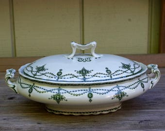 Losol Ware Tureen Serving Bowl Covered Casserole Keeling and Co