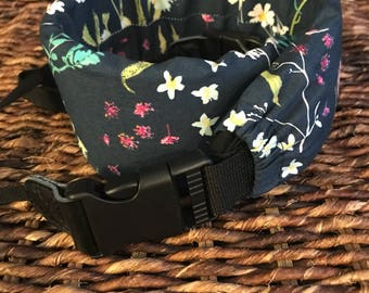 Deluxe Camera Strap, Padded Camera Strap, DSLR Strap, SLR Strap, Blossom