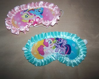 My Lil Pony Sleep Mask Girls Teens Sleeping Mask Day Sleeper Birthday Gift Spa Hospital Travel BFF Sleep Over