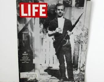 Life Magazine 1964 Lee Harvey Oswald Cover, Jack Ruby, Beatles