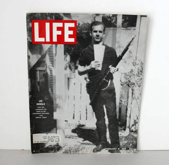 Life Magazine 1964 Lee Harvey Oswald Cover, Jack Ruby, Beatles