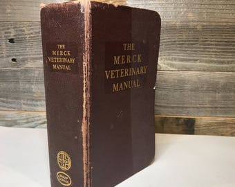 The Merck Veterinary Manual- Copyright 1955- Animal Medicine- Farm Animal Diseases
