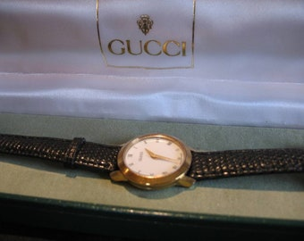 Vintage Womans Gucci Watch Excellent Swiss Made