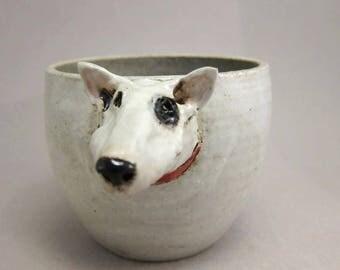 Spot...Sturdy Tea Bowl in Stoneware