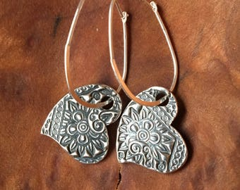 Eastern Paisley Earrings