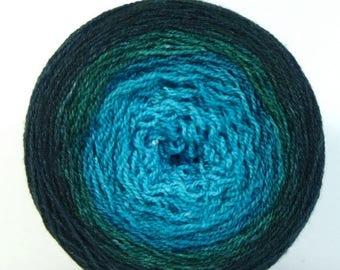 BIG SUMMER SALE Fine Wishingstar Merino/Silk Lace Gradient Shawl Maki - Morphini