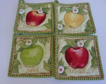 Apple Harvest Set of Pot Holders