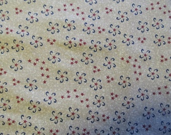 Free Shipping! Stars and Fireworks, Plum Creek Patchwork by Pinnacle. 1/2 Yard. 17099