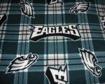 Philadelphia Eagles fleece blanket NFL  60 X 58 inches CONGRATULATIONS