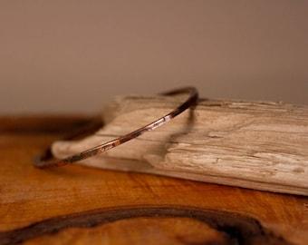 Thin Copper Bangle