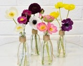 Simone & Troy Spring Wildflower Mini Faux Flower Arrangement