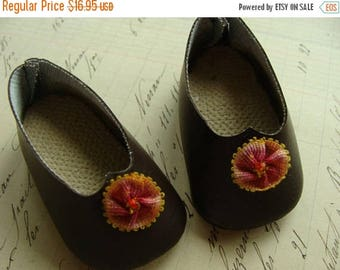 ONSALE Gorgeous Vintage Edwardian Unused Baby Doll Shoes