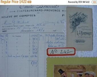 ONSALE Vintage Dennison Organization Labels, 12 Vintage Dennison Gummed Labels No.261