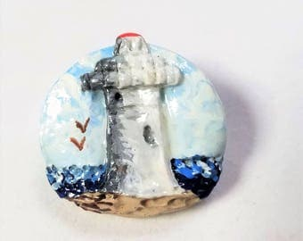 Lighthouse Vintage Pin