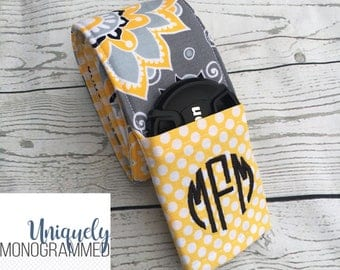 Camera Strap-Camera Strap Cover for Women-Padded Camera Strap Cover Lens Cap Pocket-Photographer Gift-Floral Suzani Gray black yellow