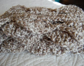 Hand-Crocheted Scarf--Free Shipping!