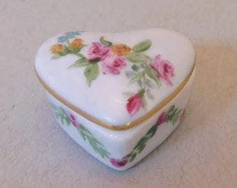 Heart Shaped Garden Flower Tooth Fairy Box
