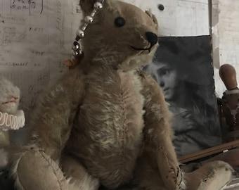 Steiff Bear with Button and working growler, 1905 to 1910 Antique teddy Bear, Steiff, German Bear, Roosevelt Bear.