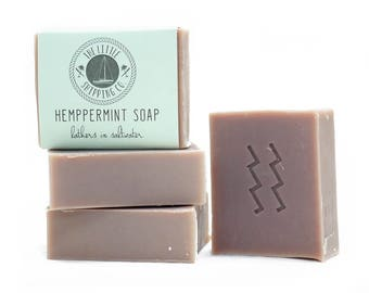 Hemppermint Soap 100g Handcrafted from 100% Coconut Oil